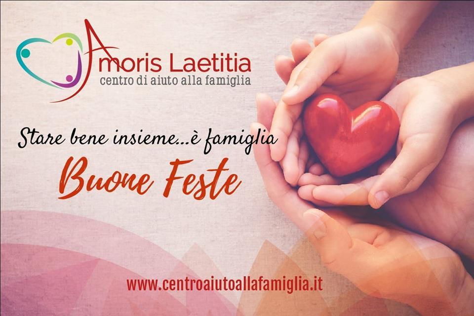 """L'equipe del Centro di aiuto alla famiglia """"Amoris laetitia"""" augura a tutti buon Natale e felice anno nuovo"""