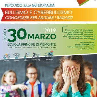 Sabato formativo 30 marzo 2019 BULLISMO E CYBERBULLISMO