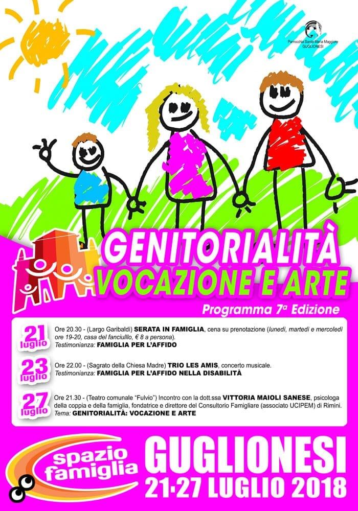 """INCONTRO FORMATIVO """"GENITORIALITA': VOCAZIONE E ARTE"""""""