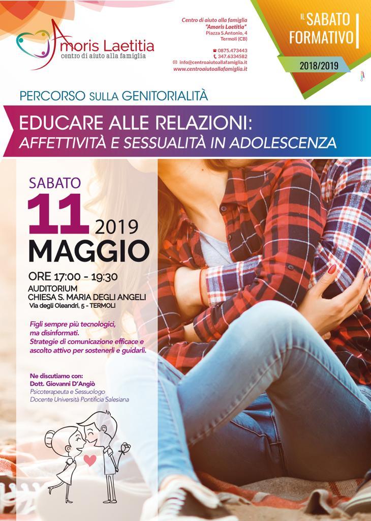 SABATO FORMATIVO 11 MAGGIO 2019
