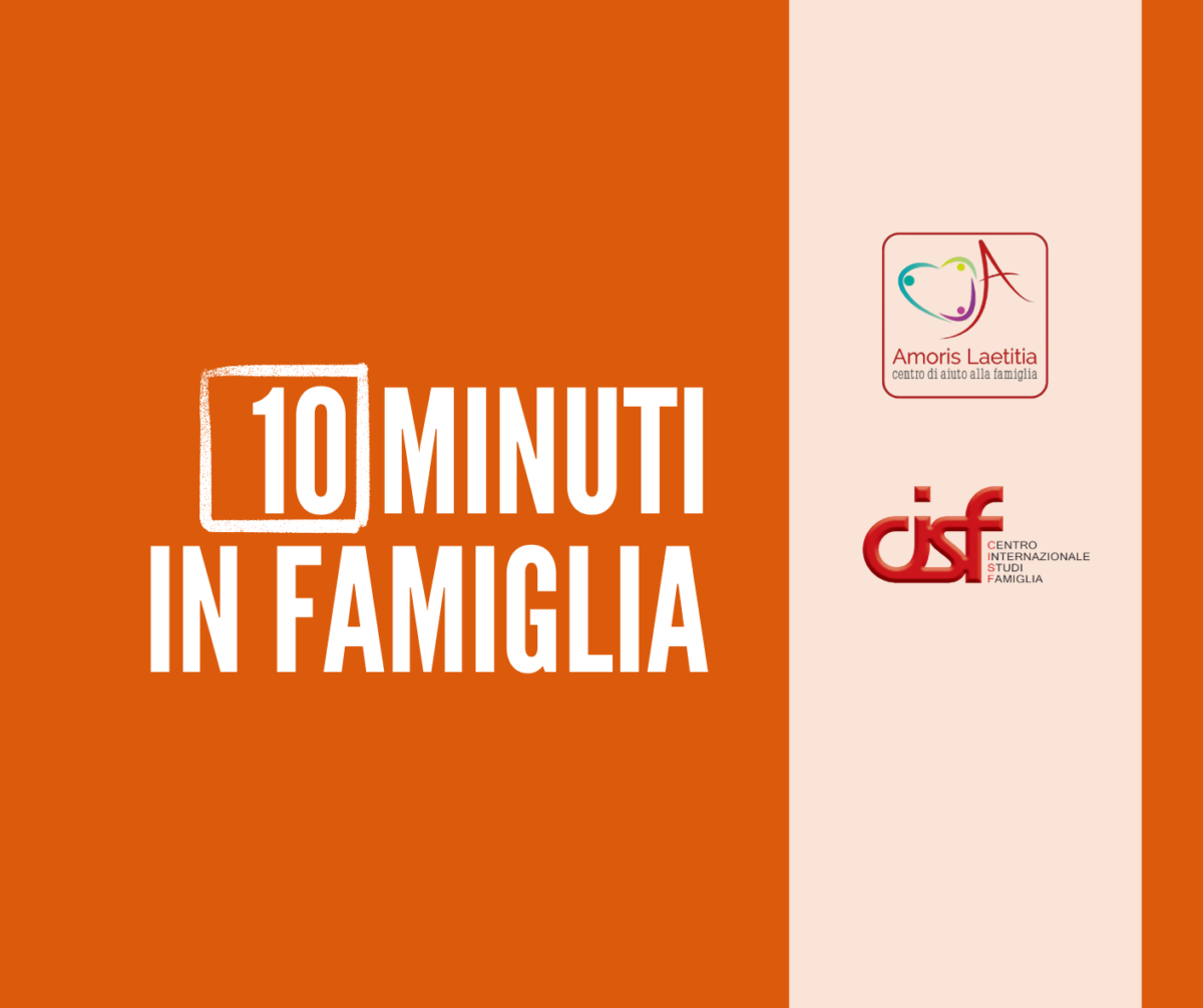 10 MINUTI IN FAMIGLIA TERZA PUNTATA